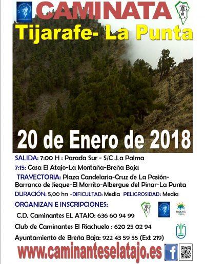 Cartel Tijarafe-la Punta 18