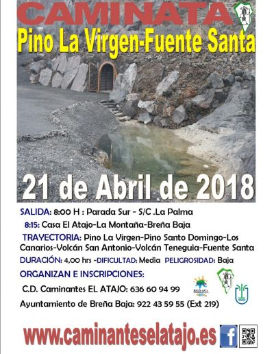 Caminata-18-FuenteSanta-Cartel