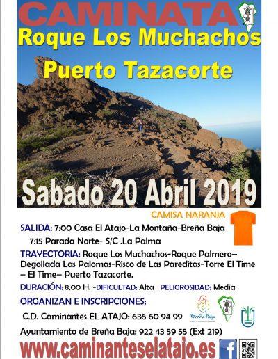 Cartel Roque Los Muchachos-Pto.Tazacorte 19