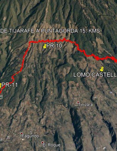 Mapa Tijarafe-Puntagorda por La Traviesa 19